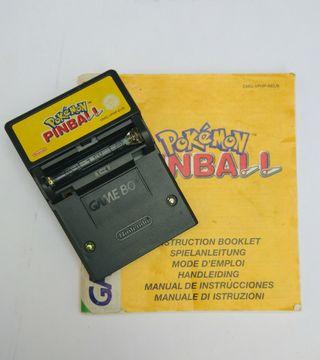 Juego Pokémon pinball Game boy