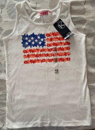 Camiseta tirantes niña Kiabi