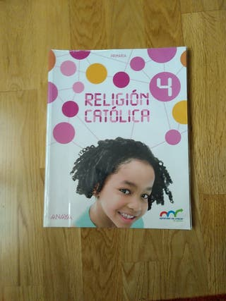 Libro Religión 4 de primaria