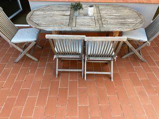 Mesa extendible terraza