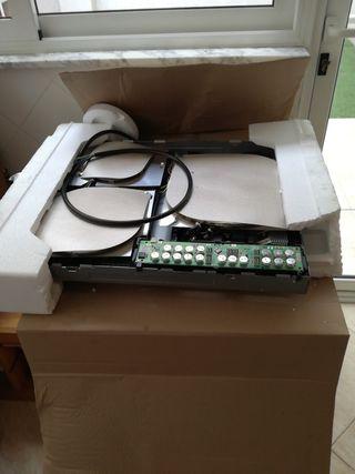 Componentes electrónicos, placa inducción Zanussi