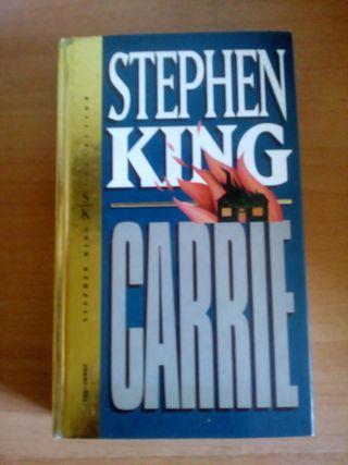 Carrie- Stephen King.Libro tapa dura
