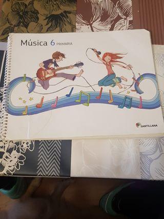 musica 6 de primaria