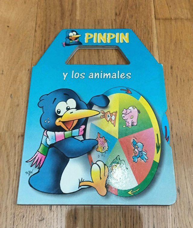 Libro infantil interactivo PinPin y los animales