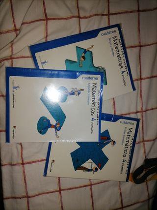 libros matemáticas 4 primaria