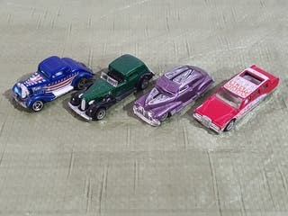 LOTE COCHES VINTAGE HOT WHEELS