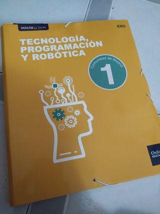 libros tecnología programación y robótica 1° ESO