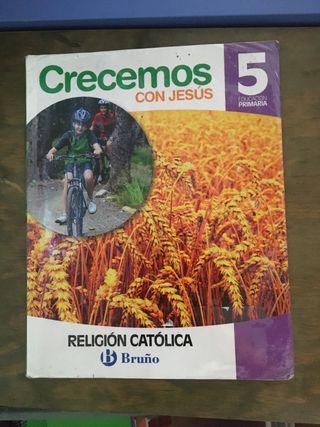 LIBRO DE TEXTO DE RELIGIÓN 5 DE PRIMARIA
