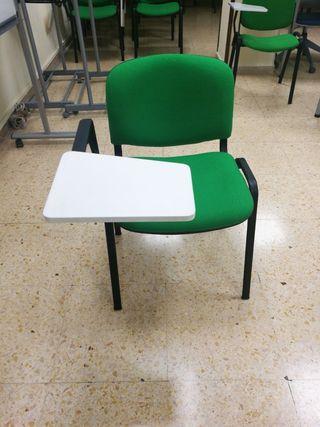 silla pala. ideal academia. 15 € la unidad