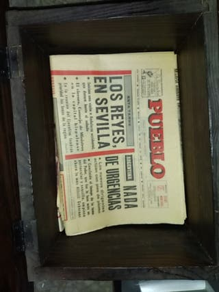 periódicos de más de 40 años