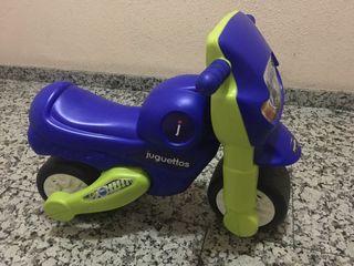 Moto correpasillos bebé juguettos