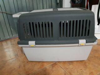 maleta para mascotas rigida