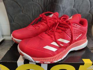 zapatillas deporte Nike talla 38 rojas crazyflight