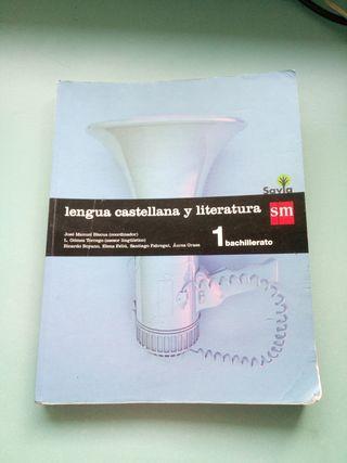 libro de lengua castellana 1bachiller