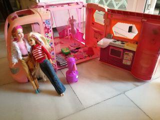 Autocaravana de Barbie.