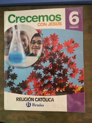 LIBRO DE TEXTO DE RELIGIÓN 6 DE PRIMARIA
