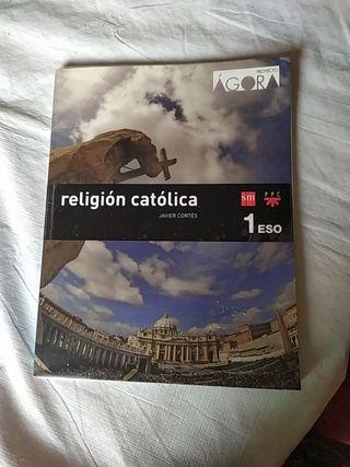 Libro de religión de 1° ESO