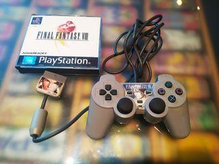 Final Fantasy VIII + DualShock personalizado