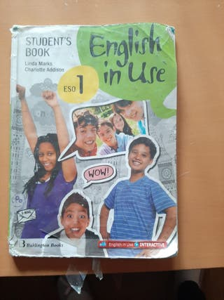 Student's book. English in Use 1°ESO