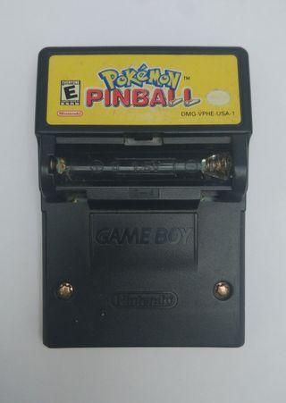 Pokémon Pinball (Gameboy)