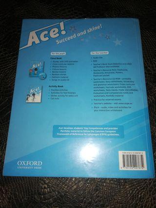 Libro de inglés Ace!2