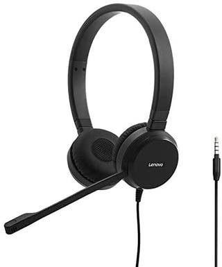 NUEVO Lenovo Wired Voip Stereo Headset auriculares