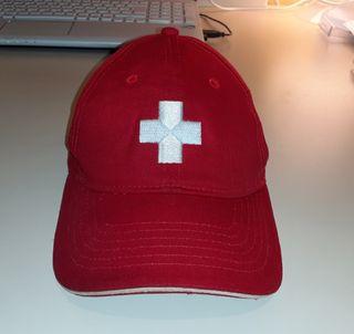 Gorra Suiza original marca Switcher