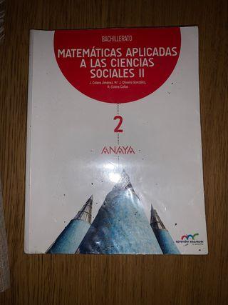 LIBRO DE MATEMÁTICAS APLICADAS 2º BACH