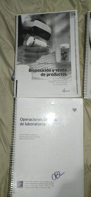 Libros Farmacia Grado Medio