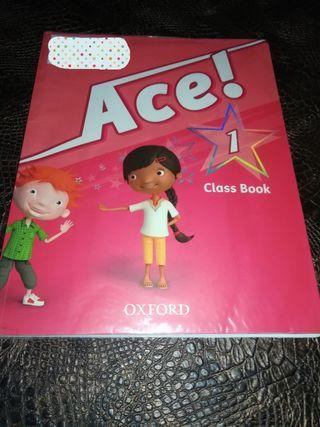 Libro de inglés Ace!1