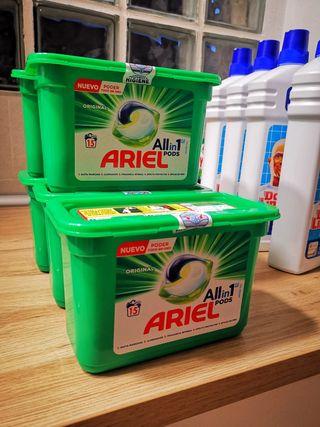 Cápsulas lavadora ARIEL Nuevo de 15 cápsulas
