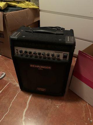 Behringer bx1200 amplificador bajo
