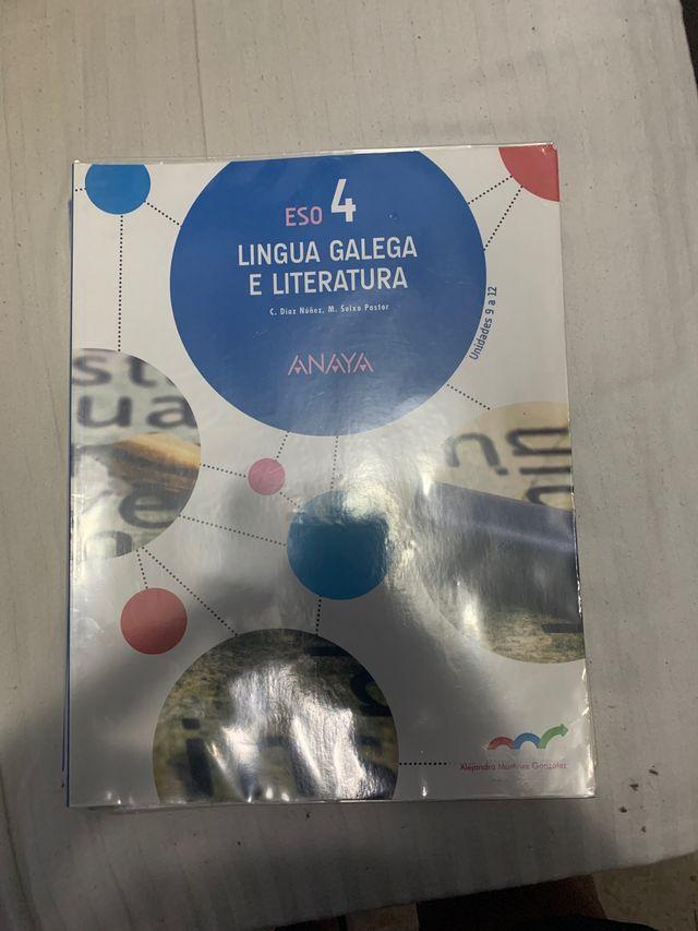 libros lingua gallega 4 eso
