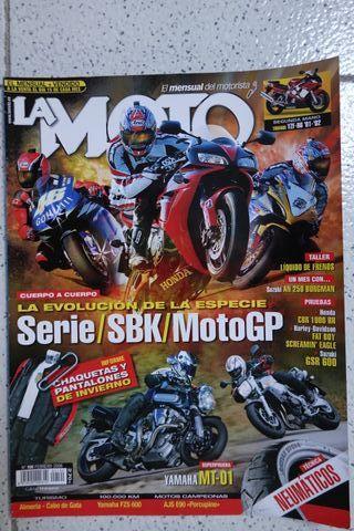 Yamaha MT01 Revista La Moto 2006