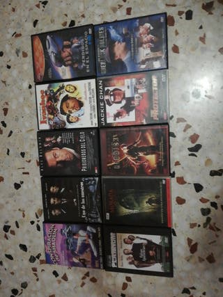 Lote 10 DVD, S.