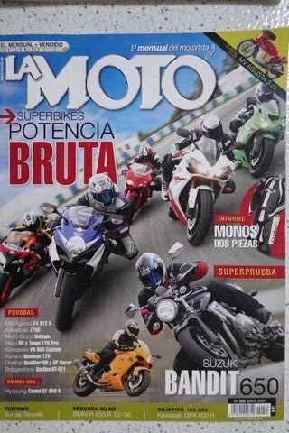 HONDA CBR1000RR Revista La Moto 2007