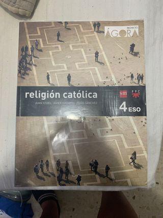 libro religión 4eso
