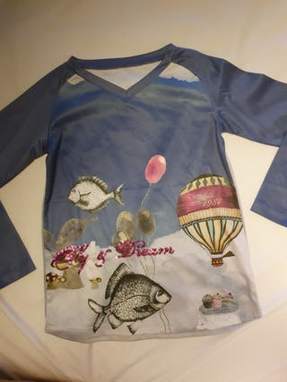 camiseta Desigual niña T 7