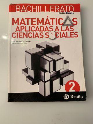 Libro de matemáticas aplicadas 2BACH