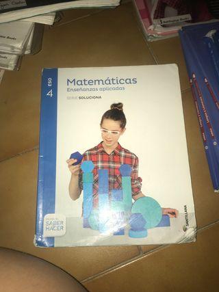 libro matemáticas aplicadas santillana