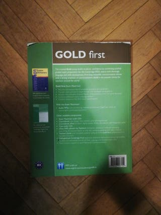 Libro inglés Gold First