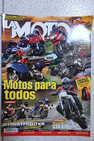 SUZUKI GSR600 Revista La Moto 2006