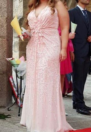 Vestido Fiesta Two Rosa Clará
