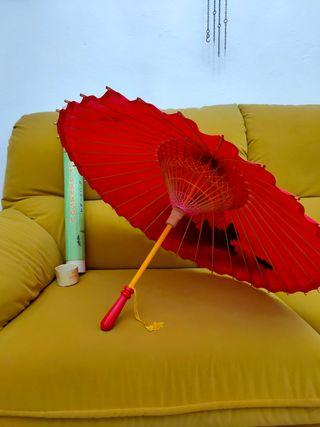 paraguas chino 50 años
