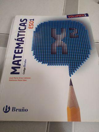 libros de matemáticas 1° ESO