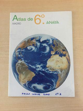 Atlas sexto de primaria