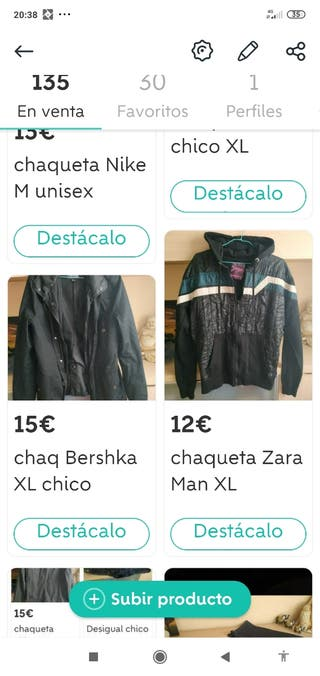 ropa chico URGE