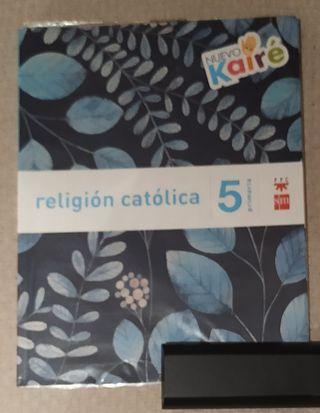 Libro Religión 5 Primaria