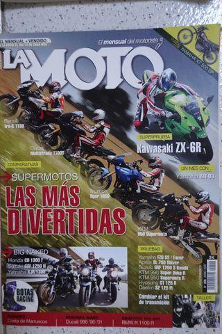 KAWASAKI ZX-6R Revista La Moto 2007