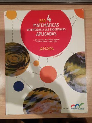 libro matematicas aplicadas 4 eso